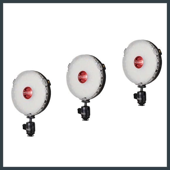 ROTOLIGHT<br /> NEO PORTABLE LEDS(SET OF 3)